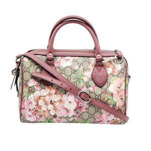 Authentic Gucci Bloom Boston Pink Shoulder Bag
